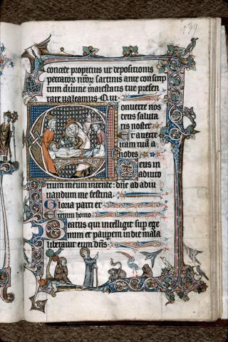 Livre d'Heures de Thérouanne, Marseille, BMVR, Ms. 111, f. 139r (Images provenant de la base enluminures.culture.fr)