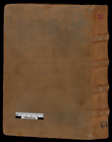 France, Lyon, BM, Ms 414  (reliure)